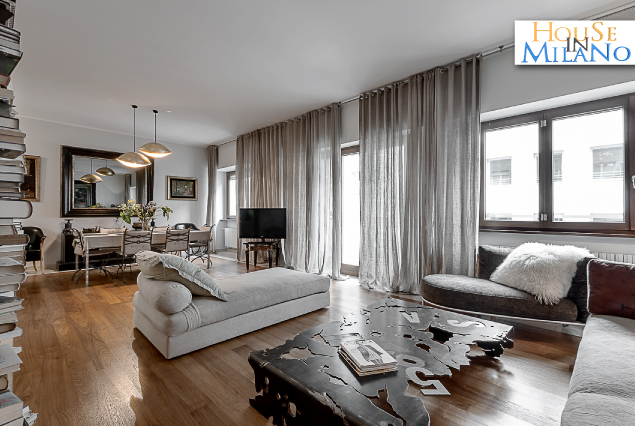 Milan central luxury apartment for Milano appartamenti